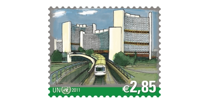 VIC stamp with ubahn by 이호승